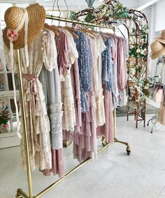 Via Love Shack Fancy Instagram. Fancy Store, Chic Outfits, Fashion Outfits, Bridesmaid Inspiration, Fairy Dress, Beautiful Outfits, Boho Fashion, Vintage Dresses, Ball Gowns