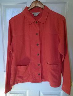 ROYAL ROBBINS Womens Long Sleeve Cool Mesh Shirt Jacket Casual Size L #RoyalRobbins #ButtonDownShirt #Casual