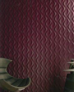 ARTÉ by GIO in beautiful #Bordeaux! // #3D #subwaytiles #ceramic #tiles #interiordesign #commercialdesign #walltile #tiledesign #tileaddiction #tilelove #nashville #wedgewoodhouston #charlotte #instadesign#designs #design #backsplash #interior #interiors #interiordesigner #IDCdesigners by giotile