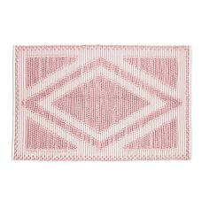 5 x 8' Diamond in the Rug (Pink) | The Land of Nod