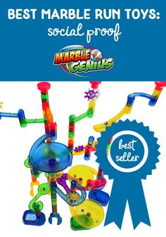 When choosing products, social proof is more important than ever. Here are some of the awards and recognition Marble Genius has received in 2017 for their marble run toys and games. Marble Toys, Steam Toys, What Is Social, Social Proof, Social Share Buttons, Press Kit, Learning Through Play, Building Toys, Kids Toys