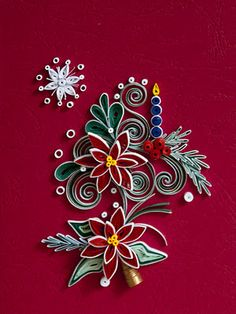 @Julie Wallace   Thank for the pin.  This is beautiful.  I will need to practice my quilling.  Maybe it will be my Christmas card next year.