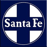 Arguably the most famous railroad ever operated and known worldwide, the Santa Fe.  Its full name was the Atchison, Topeka & Santa Fe and merged with Burlington Northern in 1995 forming today's BNSF Railway system.