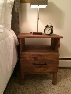 Tarva nightstand from IKEA, hacked.