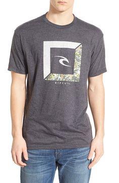Rip Curl 'Forecaster' Graphic Crewneck T-Shirt