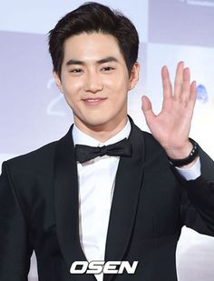 Suho at the Busan International Film Festival