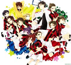 The Team Victorious, Image Boards, Vocaloid
