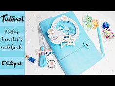 Midori / traveler's notebook de Ecopiel, elegante. Paso a paso - YouTube