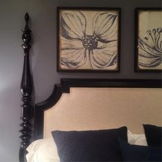 Crisp, Traditional Headboard at Hooker — High Point Fall Market 2013 Apartment Therapy #HPMKT #StyleSpotter Janel Laban
