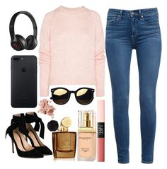 """#228"" by londero-danielle ❤ liked on Polyvore featuring Paige Denim, Christopher Kane, NARS Cosmetics, Gianvito Rossi, Aedes De Venustas, Elizabeth Arden, Bobbi Brown Cosmetics, Beats by Dr. Dre and Humble Chic"