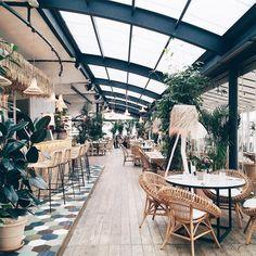 Design Cafe Concept Restaurant 30 Ideas For 2019 Decoration Restaurant, Deco Restaurant, Restaurant Design, Restaurants In Paris, Brunch In Paris, Paris Cafe, Resto Paris, San Pedro, Cafe Concept