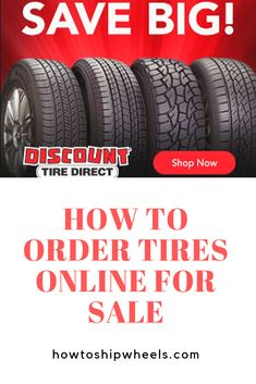 Discount Tire Direct has the best selection of wheels/tires online for any vehicle make, model and year.  Simply order online now and get fast, free shipping direct to your door, or have your tires shipped to your installer's address.