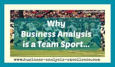 why business analysis