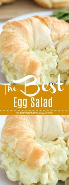 The BEST Egg Salad Egg Salad Dill, Potato Egg Salad, Easy Egg Salad, Keto Egg Salad, Chicken Egg Salad, Deviled Egg Salad, Easy Salads, Summer Salads, Best Egg Salad Recipe