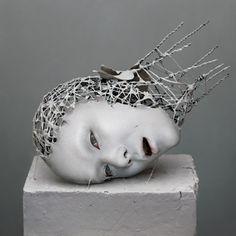 Yuichi Ikehata's Powerful Sculptures of Physical Fragments | Hi-Fructose Magazine