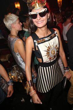 Giovanna Battaglia at H & M's Paradise Ball