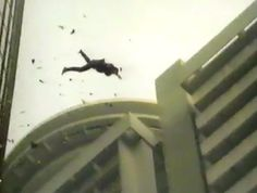 In the 1981 film 'Sharky's Machine' starring Burt Reynolds, Stuntman Dar Robinson dropped 220 feet at this hotel setting a record for the highest unrestrained freefall jump from a building in a movie.