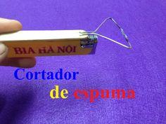 Como hacer un cortador de espuma usando un encendedor - Πώς να κάνει ένα...