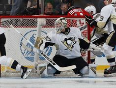 Jeff Zatkoff #37 of the Pittsburgh Penguins