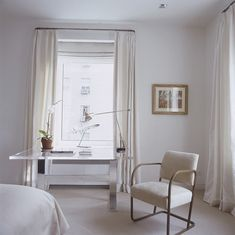 Ask Maria: When is White Dirty? Good article about how to decorate with white without making it look dirty.