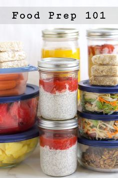 Food Prep 101 - lots of tips and recipes to help you stay healthy when you're on-the-go!