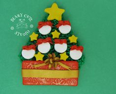 Items similar to Family Ornament, Christmas family ornament, Tree ornament, Personalized family ornament on Etsy Personalized Family Ornaments, Ornament Tree, Family Christmas Ornaments, Cake, Unique Jewelry, Handmade Gifts, Desserts, Etsy, Kid Craft Gifts