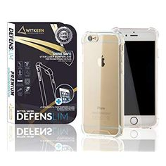 WITKEEN Defenslim Ultra Clear Case iPhone Plus/iPhone 6 Plus Shockproof Bumper Cases with Corner Defender Technology for Apple iPhone Plus / 6 Plus Transparent Cover Amazon Codes, Apple Iphone 6s Plus, Iphone Cases, Coding, Technology, Tech, Iphone Case, Tecnologia, Programming