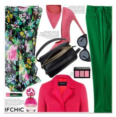 """Valentine's Day Style: Create with IFCHIC"" by paculi ❤ liked on Polyvore featuring Marissa Webb, Dee Keller, Lands' End, Pink Tartan, Le Specs Luxe, Marc Jacobs, 10 Crosby Derek Lam, Lipstick Queen, Bobbi Brown Cosmetics and NYFW"