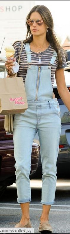 Tuesday's Trend Alert: Overalls- The Jumpsuit's Cousin  http://rrtruefashion.com/