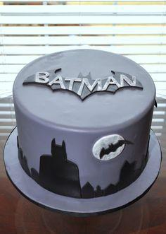 Batman Cake for an older boy.