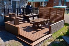 Pergola Patio Pergola Patio Patio Patio attached to house Patio covered Patio diy Patio ideas Patio ideas freestanding Pergola Patio Patio Plus Small Deck Designs, Backyard Patio Designs, Wood Deck Designs, Gazebo On Deck, Pergola Patio, Pavers Patio, Patio Roof, Pergola Kits, Patio Steps