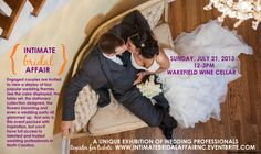 Be sure you register for the Intimate Bridal Affair... This is NOT your typical bridal show, but an exhibition of the best wedding professionals in North Carolina.