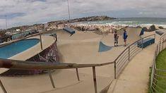 Bondi Beach Skatepark  #skatepark #skate #skateboarding #skatinit #skateparkreview