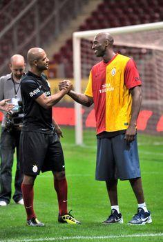 Kobe Bryant - Felipe Melo Galatasaray Antremanı Türk Telekom Arena :)