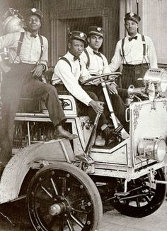 African American fire fighters Los Angeles, CA. (1919)