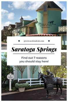 7 reasons why you should book a stay at Saratoga Springs Resort & Spa, an on-site Disney World hotel in Orlando, Florida with Disney perks (free airport shuttle, extra magic hours, transportation to Magic Kingdom, EPCOT, Hollywood Studios, Animal Kingdom, water parks, etc.). It's the cheapest deluxe hotel (and you can find out how to find the low prices), has great theming, rooms, dining options, it's walking distance from Disney Springs and is more adult friendly #SaratogaSprings… Orlando Vacation, Vacation Deals, Florida Vacation, Florida Travel, Orlando Florida, Usa Travel, Saratoga Springs Disney, Saratoga Springs Resort, Springs Resort And Spa