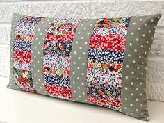 Patchwork panel cushion | por Very Berry Handmade