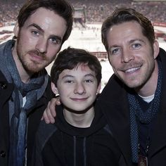 Henry and his future step dads hahaha that sounds wrong