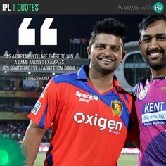Suresh Raina would love to emulate the captaincy of MS Dhoni! His side badly needs some motivation to win! #IPL2017 #IPL10 #GL #IPL #cricket