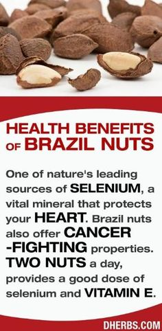 Brazil nuts are one of nature's leading sources of SELENIUM, a vital mineral that protects your HEART. Brazil Nuts also offers CANCER-FIGHTING properties. #dherbs #healthtips by mw6869