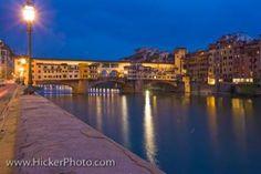 Ponte Vecchio Bridge Arno River Florence Tuscany Italy