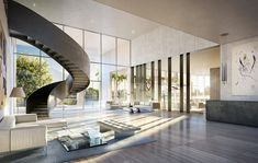 """The Italian architect #PierroLissoni designed The Residences with what he describes as """" a classical, European approach working around the individual and the context, to respect the nature in which I design. #www.miamirealestatetrends"""