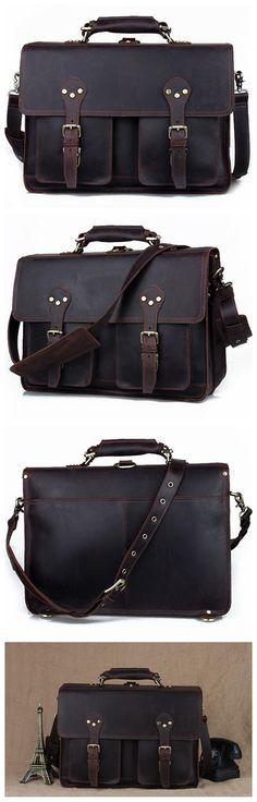 Handmade Vintage Style Camera Bag/ Messenger/ Camera Briefcase