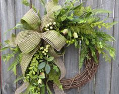 Succulent Wreath Wreath Great for All Year Round Everyday  Love it. Simple and lovely!  On Etsy!