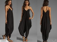 Sexy Harem Hippie Trapeze Baggy Overall J20914 | Trade Me