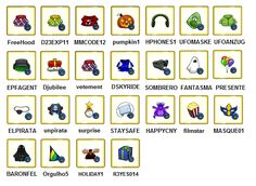 Club Penguin Dicas e Códigos: Códigos