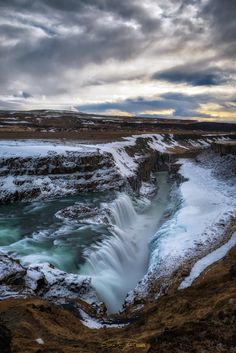 Snow Photography, Travel Photography, Beautiful World, Beautiful Places, Gullfoss Waterfall, Thingvellir National Park, Quelques Photos, Winter Photos, Iceland Travel