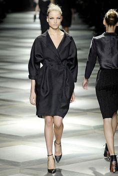 Lanvin Spring 2009 Ready-to-Wear Fashion Show - Raquel Zimmermann