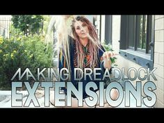 How To Section Dreadlocks - YouTube