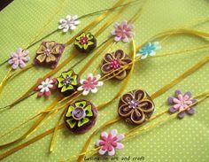 Life's little treasures: Handmade & Quilled rakhis